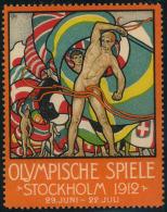 1912, Dekorative Vignette In Deutscher Sprache, Postfrisch. - Suède