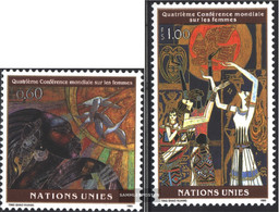 UN - Geneva 271-272 (complete Issue) Unmounted Mint / Never Hinged 1995 Women's Conference - Geneva - United Nations Office