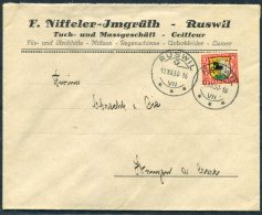 1930 Switzerland Ruswil Pro Juventute Cover -  Wangen - Pro Juventute