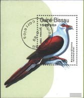 Guinea-Bissau Block275 (complete Issue) Fine Used / Cancelled 1989 Pigeons - Guinea-Bissau