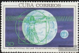 Cuba 1598 (complete Issue) Unmounted Mint / Never Hinged 1970 World Telecommunication Day - Kuba