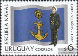 Uruguay 2318 (complete Issue) Unmounted Mint / Never Hinged 1997 Marineakademie - Uruguay