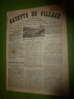 1895 GDV :Naufrage à L'île D'Aix; Terrible Tremblement De Terre En Italie(Florence,Bologne,Parme); MADAGASCAR Et Carte - Periódicos
