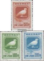 Northeast-China (VR China) 176II-178II (complete Issue) Unused 1950 World Peace - North-Eastern 1946-48