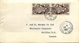 1952  Lettre Pour Le Canada   Yv 337 X2 - St.Pierre & Miquelon