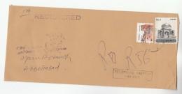 1989 Registered  TELEPHONE FACTORY HARIPUR PAKISTAN Stamps COVER  Telecom - Telecom