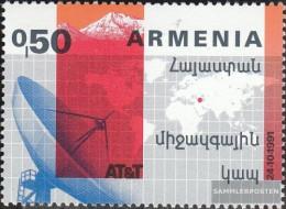 Armenia 198 (complete Issue) Unmounted Mint / Never Hinged 1992 Satellitentelefon - Armenia