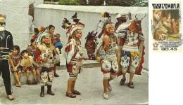GUATEMALA   CHICHICASTENANGO  Indigenas  Indians  Masks  Nice Stamp - Guatemala