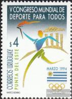 Uruguay 2027 (complete Issue) Unmounted Mint / Never Hinged 1994 World Congress - Uruguay