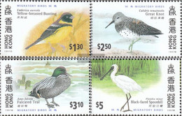 Hong Kong 811-814 (complete Issue) Unmounted Mint / Never Hinged 1997 Migratory - Unclassified