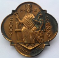 HRVATSKI SOKOL FALCON  III. Slet Hrvatskog Sokola  PIN BADGE   S - Badges
