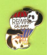 Pin Montgolfière Re/Max Calgary Panda - 1X27 - Luchtballons