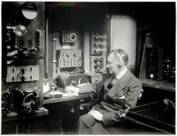 Press Photo - Guglielmo Marconi - Marchese - Telecommunication Inventor - In His Yacht Elettra 1920 - Personalità