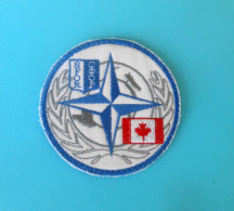 SFOR - United Nations Peacekeeping Mission In Bosnia Patch * CANADA ARMY * Armee Flicken UN Forces Ecusson - Patches