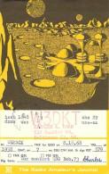 Amateur Radio QSL Card - W3DKT - Baltimore, MD -USA- 1968 - 2 Scans - Radio Amateur