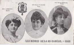 LES REINES DE LA MI CAREME 1908 - Manifestazioni