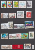 """D19 - 2016 - 20 TIMBRES """"GOMMES"""" OBLITERES DIFFERENTS - France"""