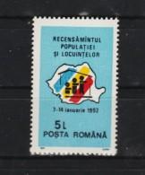 1991 -  Recensement  Mi No 4707 Et Y&T No 3957  MNH - 1948-.... Republiken