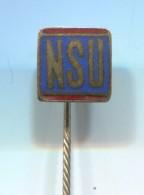 NSU - Car Auto Automotive, Vintage Pin  Badge, Enamel - Audi