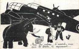 AVIATION . HUMOUR . - Flugzeuge