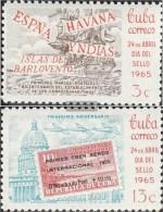 Kuba 1018-1019 (completa Edizione) MNH 1965 Giorno Il Timbro - Kuba