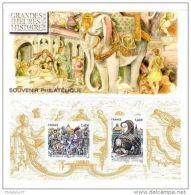 Souvenir Philatélique - Les Grandes Heures De L'histoire - Souvenir Blocks & Sheetlets