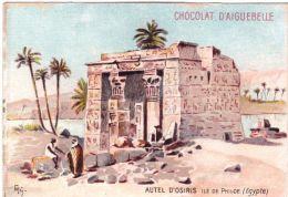 Chocolat D'Aiguebelle Autel D'Osiris Ile De Philae Egypte - Aiguebelle