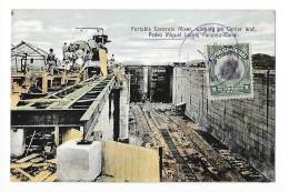 PANAMA - Pedro Miguel Locks Panama Canal - Construction Du Canal     - L1 - Panama
