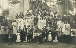 CARTE PHOTO  - CEREMONIE RELIGIEUSE - FÊTE- à IDENTIFIER, à LOCALISER - To Identify