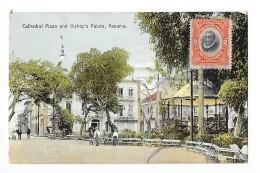 PANAMA -  Cathédral Plaza And Bishop's Palace, PANAMA    - L1 - Panama