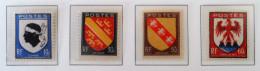ARMOIRIES DE PROVINCES 1946 - NEUFS ** - YT 755/58 - MI 752/55 - Unused Stamps