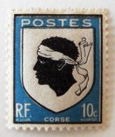 ARMOIRIES DE LA CORSE 1946 - NEUF * - YT 755a - MI 752b - France