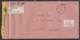 WALLIS & FUTUNA - MATA UTU / 1994 LETTRE RECOMMANDEE EN FRANCHISE POUR LA FRANCE - MULHOUSE (ref 6408) - Covers & Documents