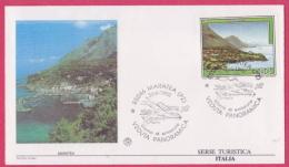 FDC Italia 1992 Maratea Serie Turistica - F.D.C.