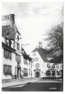 Cpsm: 67 BOUXWILLER (ar. Saverne) Hôtel De Ville Et Poste  N° 67.061.01 - Bouxwiller