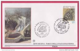 FDC Italia 1990 Ravenna Arte Musiva - F.D.C.