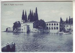 Italy Italia 1955 Punta San Vigilio Garda Cartolina Postcard FG VG Ed. Gaoso - Italia