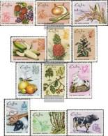 Kuba 1518-1529 (completa Edizione) MNH 1969 Agricoltura E Bestiame - Kuba