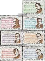 Kuba 1226-1232 (completa Edizione) MNH 1966 Festival Della Canzone - Kuba