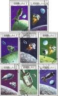 Ras Al Chaima 326A-333A (completa Edizione) Usato 1969 Weltraumprogramme - Ra's Al-Chaima