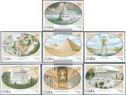 Kuba 4028-4034 (kompl.Ausg.) Postfrisch 1997 Die Sieben Weltwunder - Kuba
