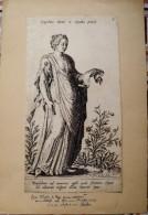 GRAVURE JEAN THEODORE DE BRY - DANSE - 17EME SIECLE - Engravings