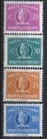 PIA - REP - 1961-74 -  Francobolli Per Recapito Autorizzato £ 20 - 30 - 35 E 110 - (SAS 12-15 - CAR 8-11) - 6. 1946-.. Repubblica