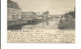 Le Pont Soyer   A Voyagè En 1900 - Tournai