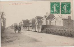 DONVILLE (50) - LA ROUTE DE COUTANCES - Other Municipalities
