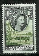 BECHUANALAND..1955..Michel # 136..MLH. - Bechuanaland (...-1966)