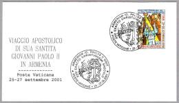 VISITA JUAN PABLO II A ARMENIA - John Paul II Visit To Armenia. Vaticano 2001 - Popes