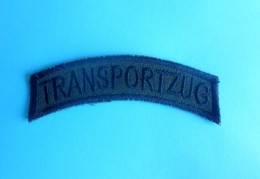 SFOR - United Nations Peacekeeping Mission In Bosnia Patch GERMANY ARMY Deutschland Armee Flicken TRANSPORTZUG Train Zug - Patches