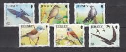 Jersey 2011,6V,set,birds,vogels,vögel,oiseaux,pajaros,uccelli,aves,MNH/Postfris(A2565) - Unclassified