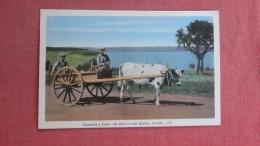Canada >   Ox Cart In Rural  Quebec=====    ===== Ref  2299 - Quebec